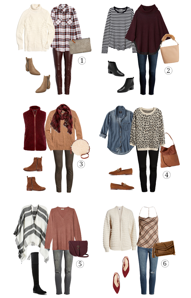 casual fall layered looks