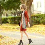 fitted long sleeve t-shirt dress