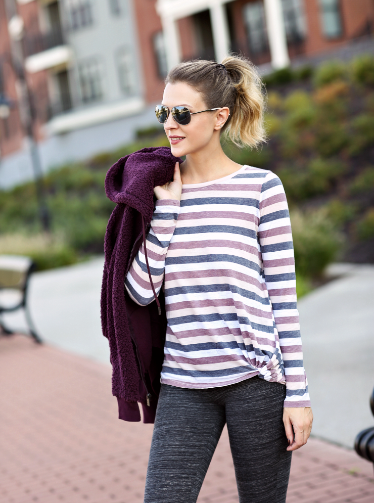 Marc New York Striped Top
