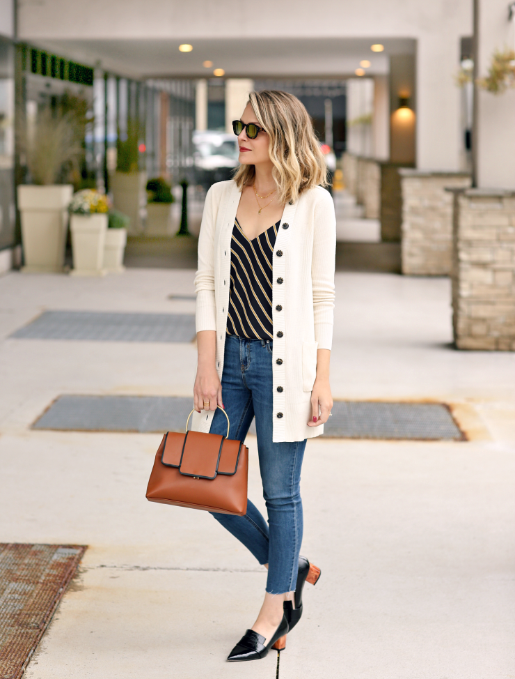 polished preppy layers