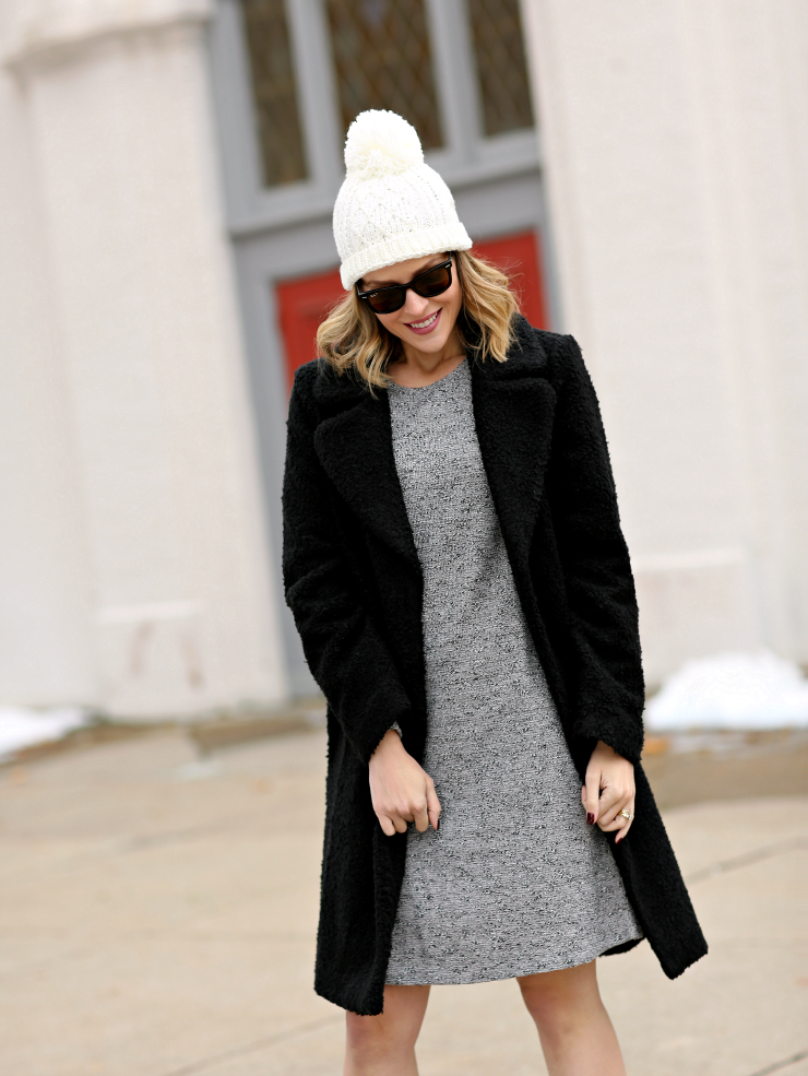 Ann Taylor Factory Faux Shearling Coat
