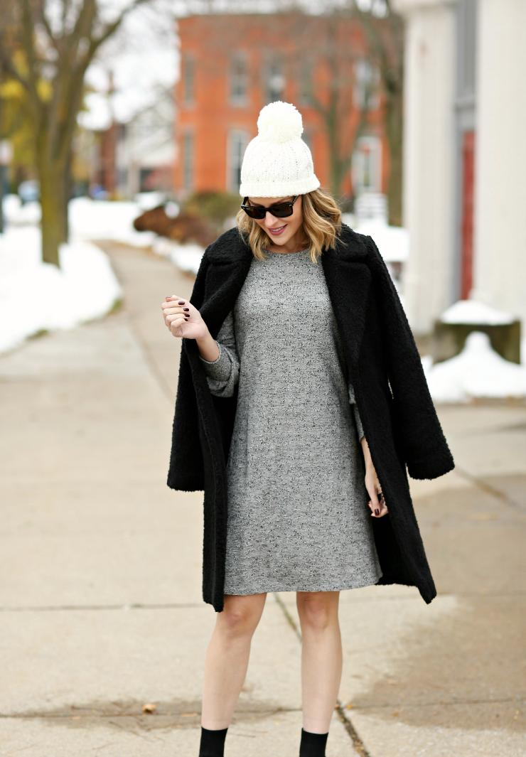 Ann Taylor Factory Sweater Dress