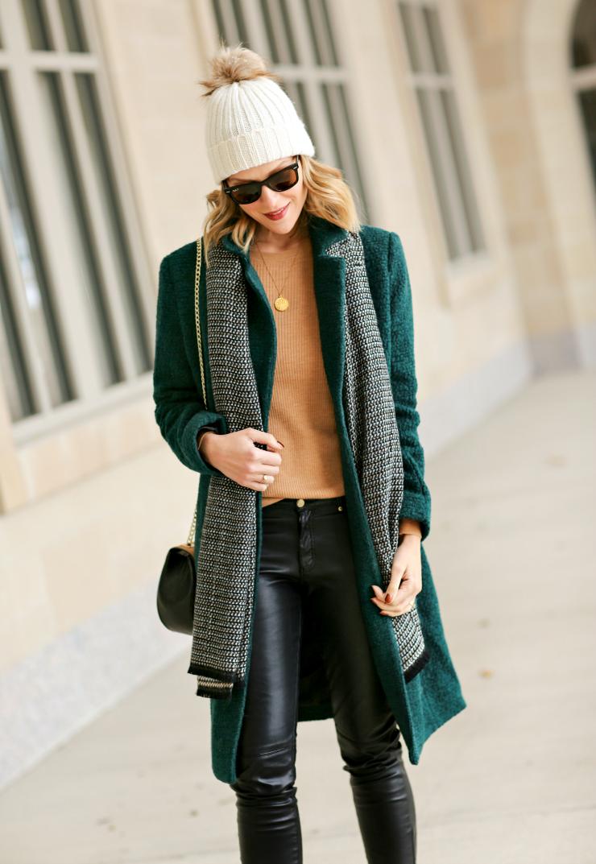 Gap chevron fringe scarf