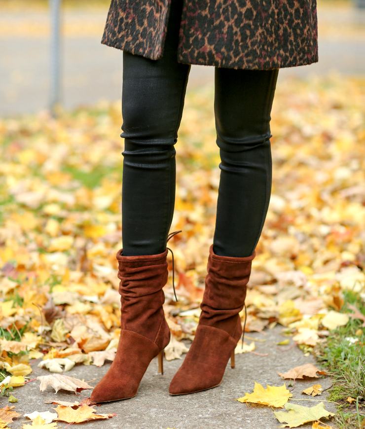Kensie Suede Slouch Boots