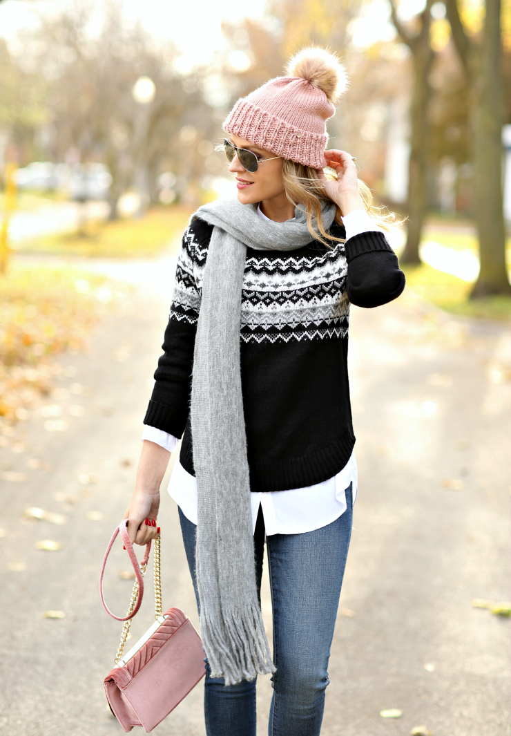 Kohl's Fair Isle Sweater