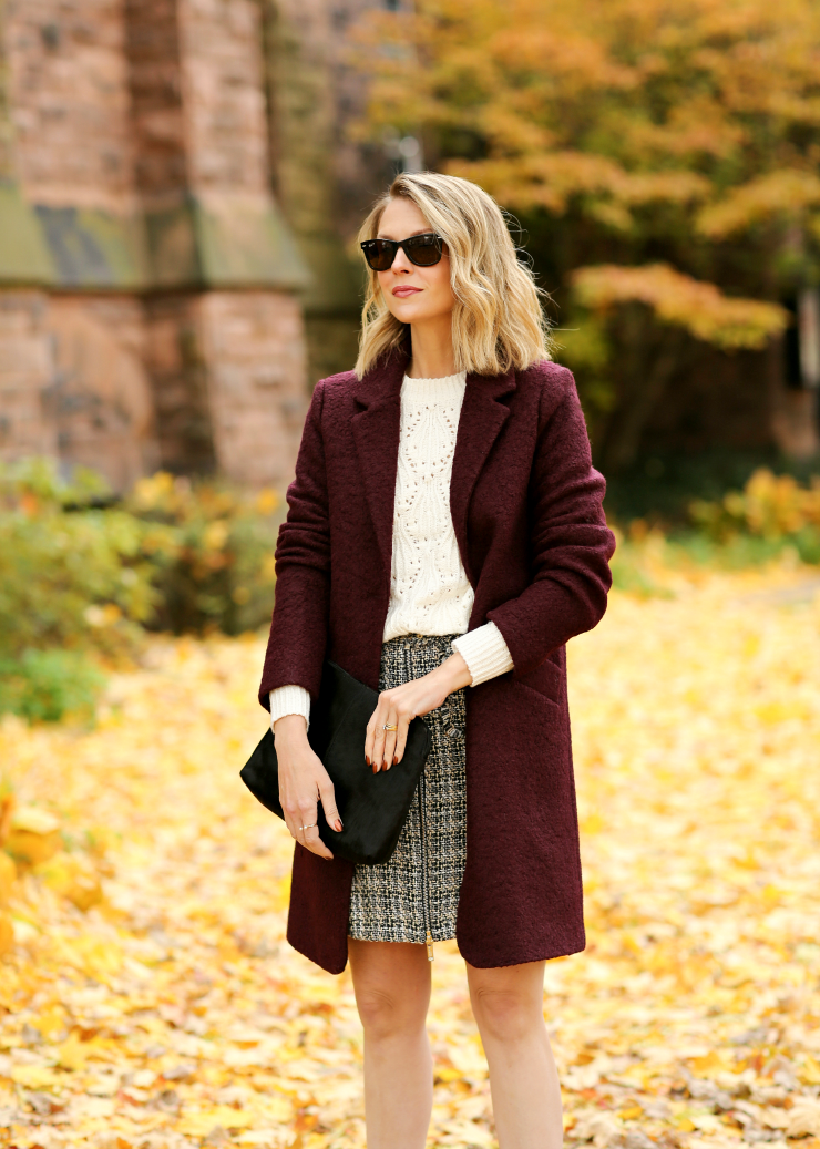 Marc New York Boucle Coat