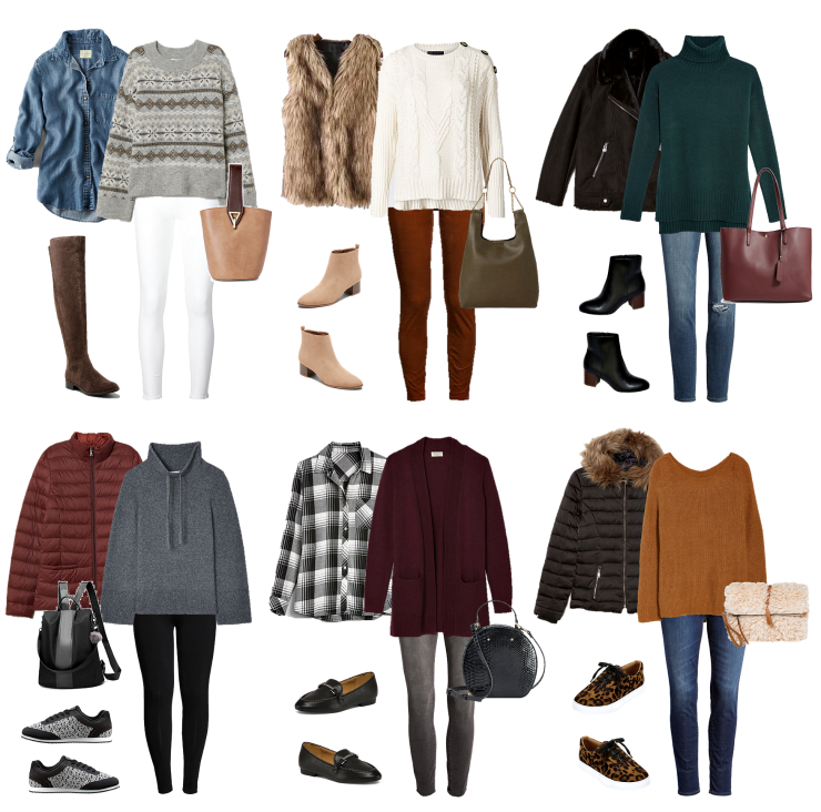 casual layered outfits