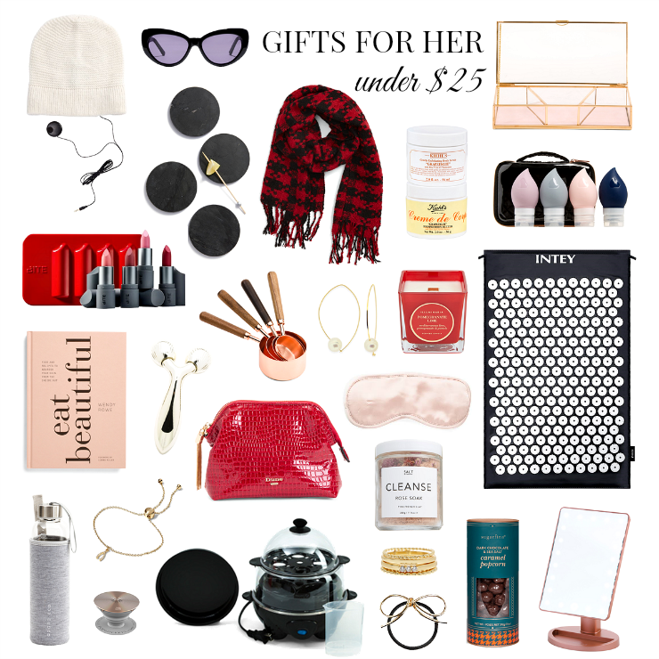 gifts for her under $25
