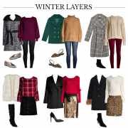 layered winter outfits