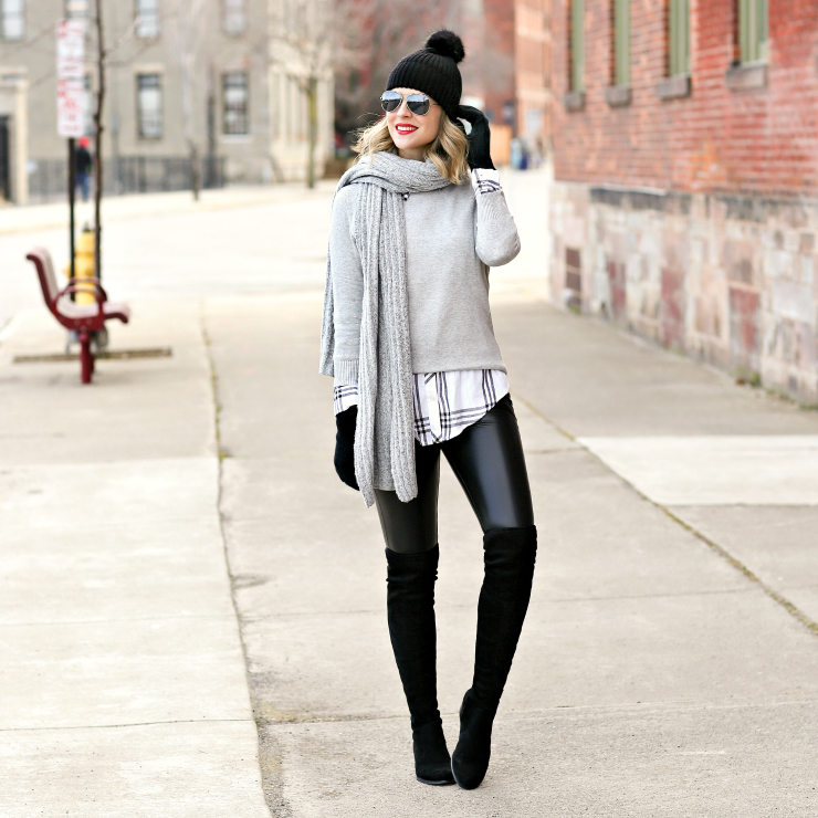 cozy winter neutrals