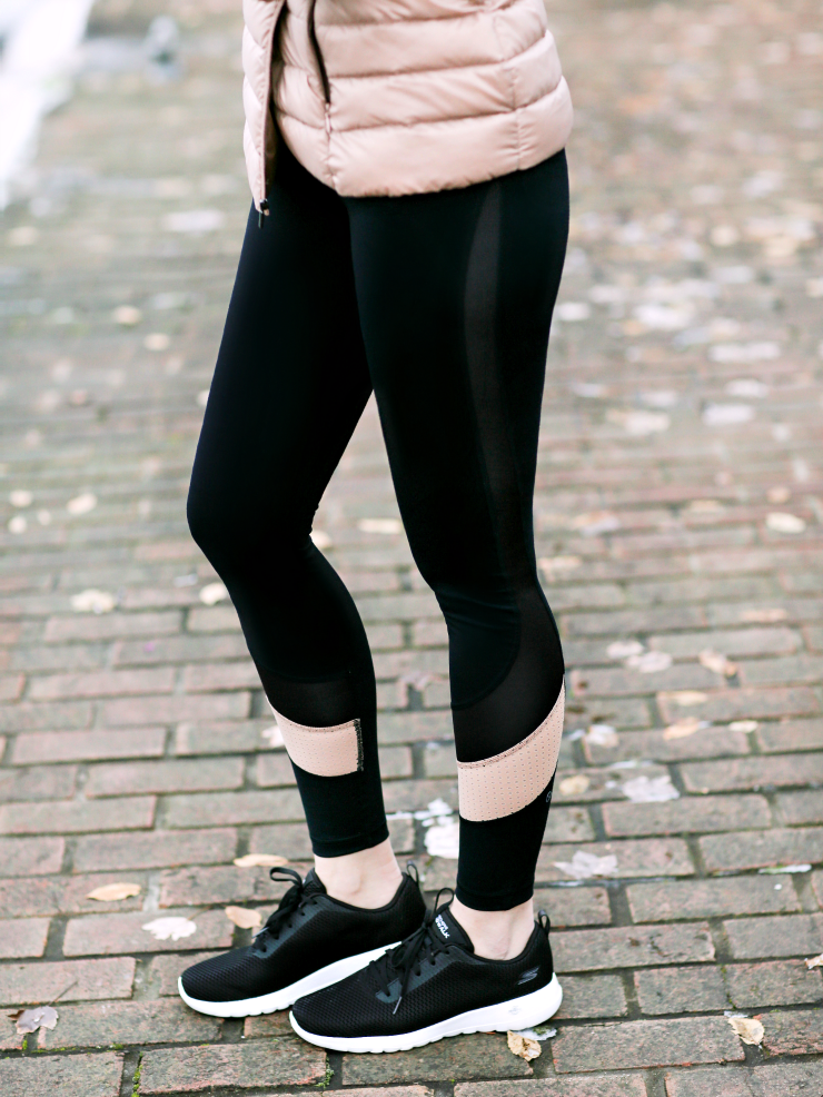 Shape Colorblock Leggings