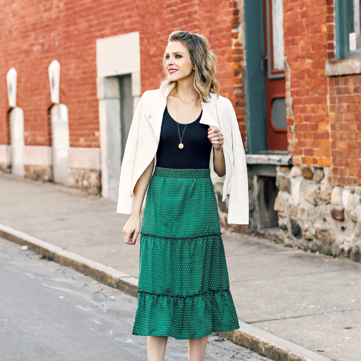 Who What Wear Midi Skirt