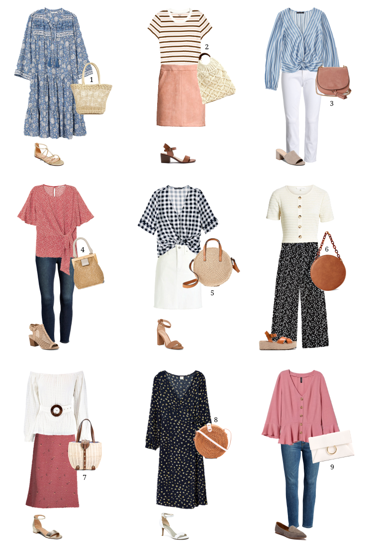 chic & affordable spring outfit ideas