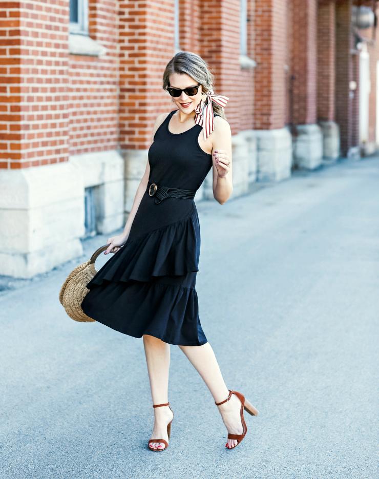 little black dress for spring