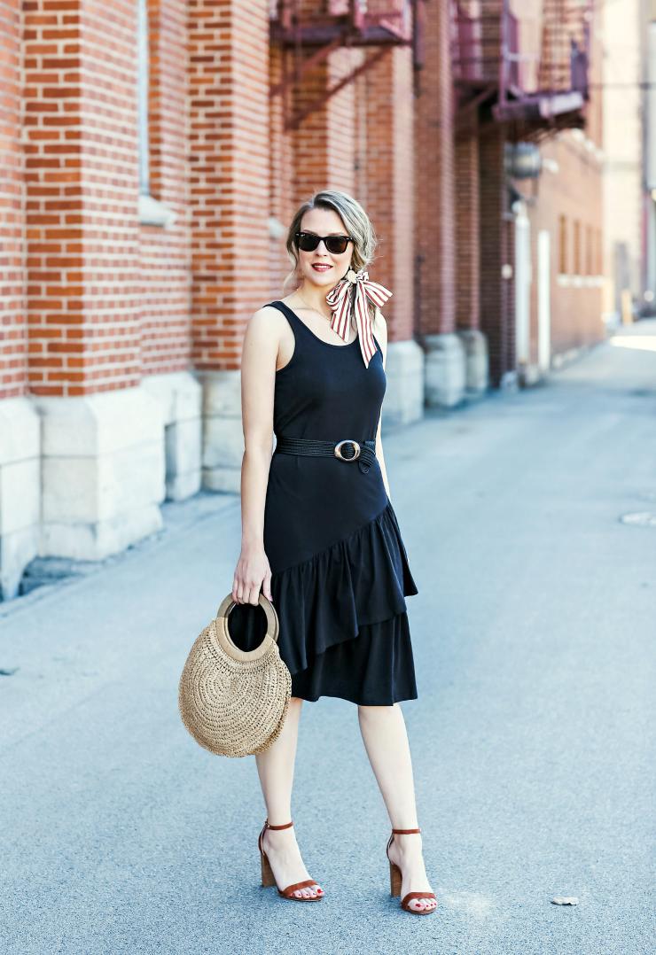 Social Threads Black Dress