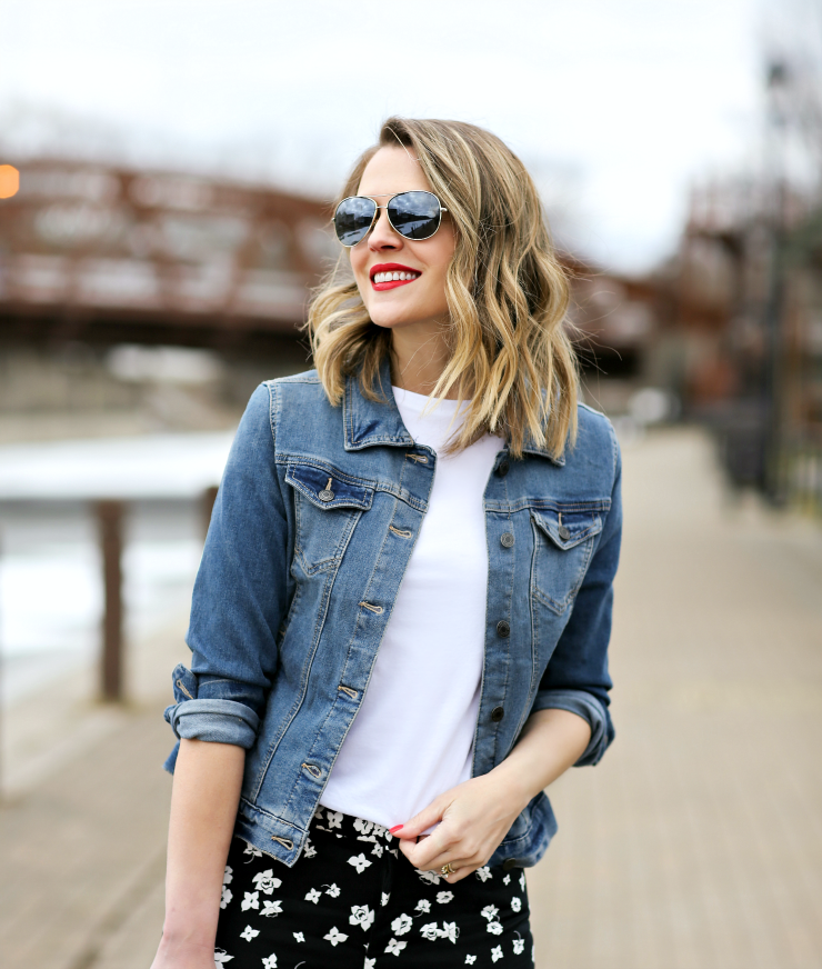 Time and Tru Denim Jacket