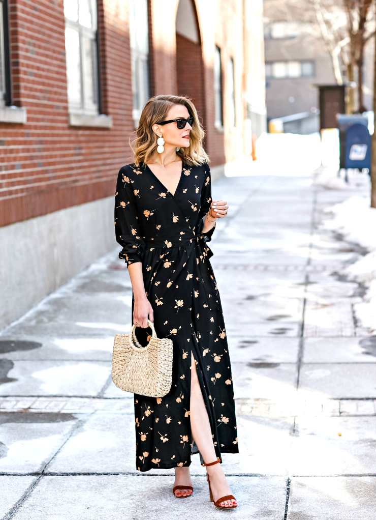 Who What Wear Floral Maxi Dress