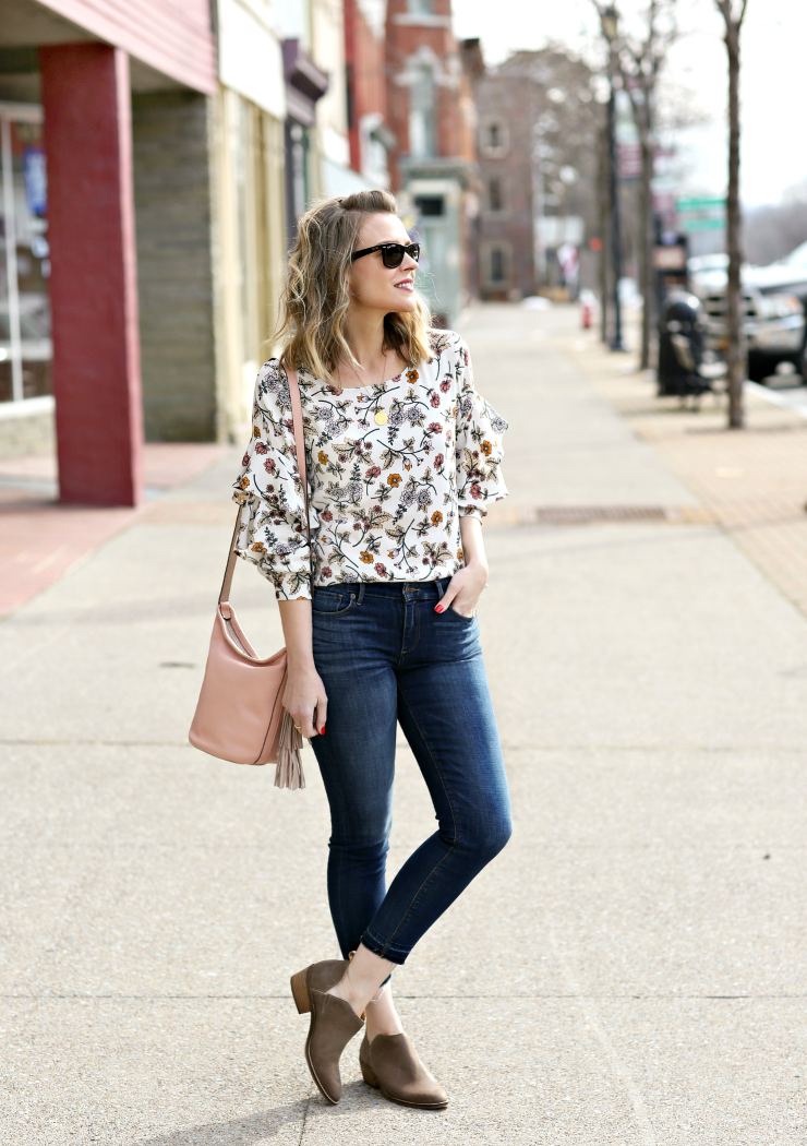 casual spring florals