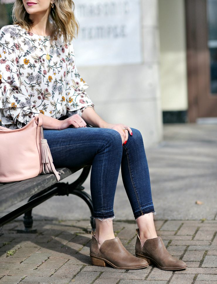 how to style ankle boots for spring