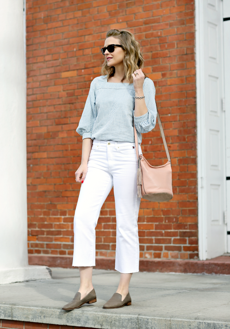 how to style wide leg jeans