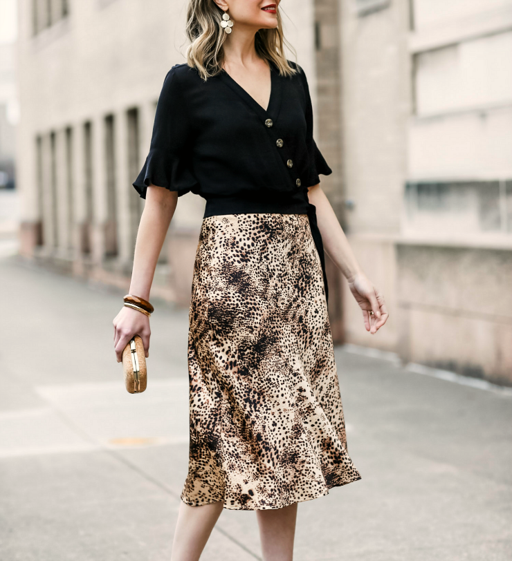 how to wear leopard print in spring