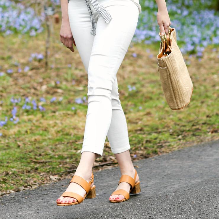 Melrose Ave Vegan Sandals