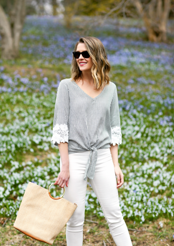 A Classic Color Combination For Spring