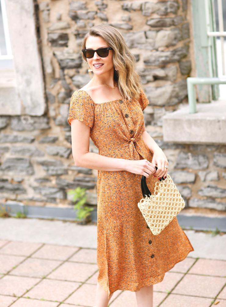 Row A Midi Dress