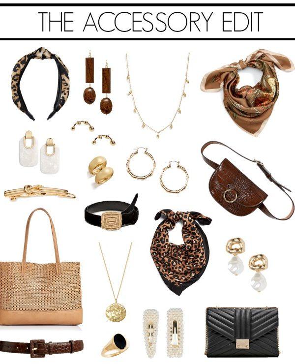 chic neutral accessories