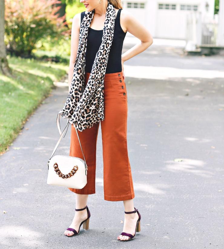 Liz Claiborne Leopard Scarf