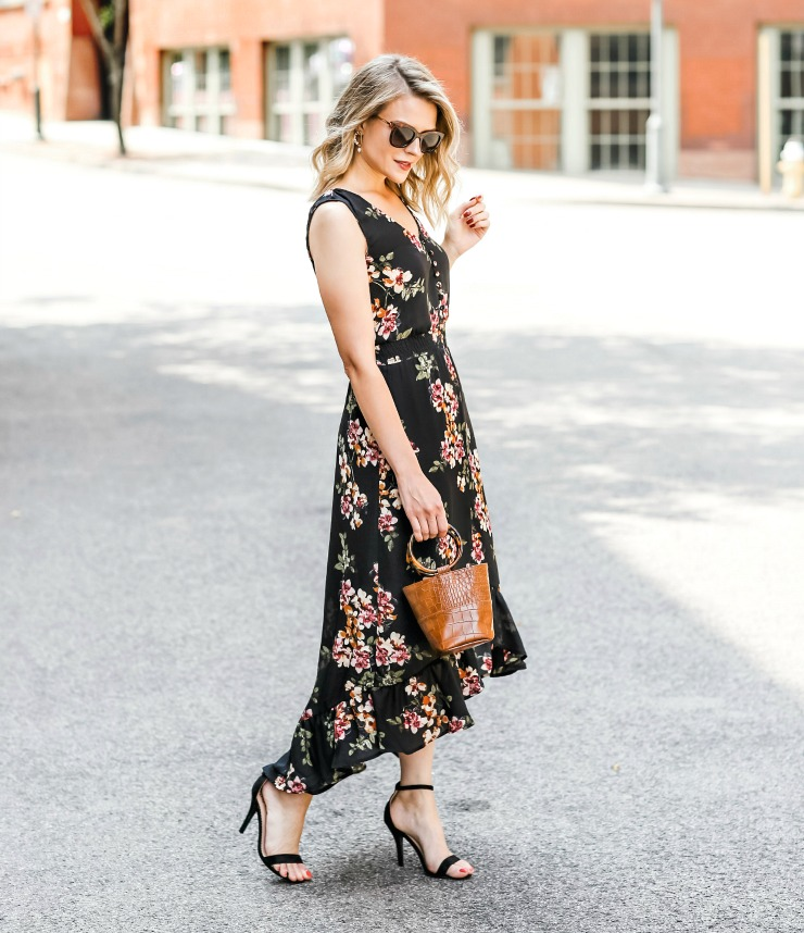 Maurice's Floral Print Dress