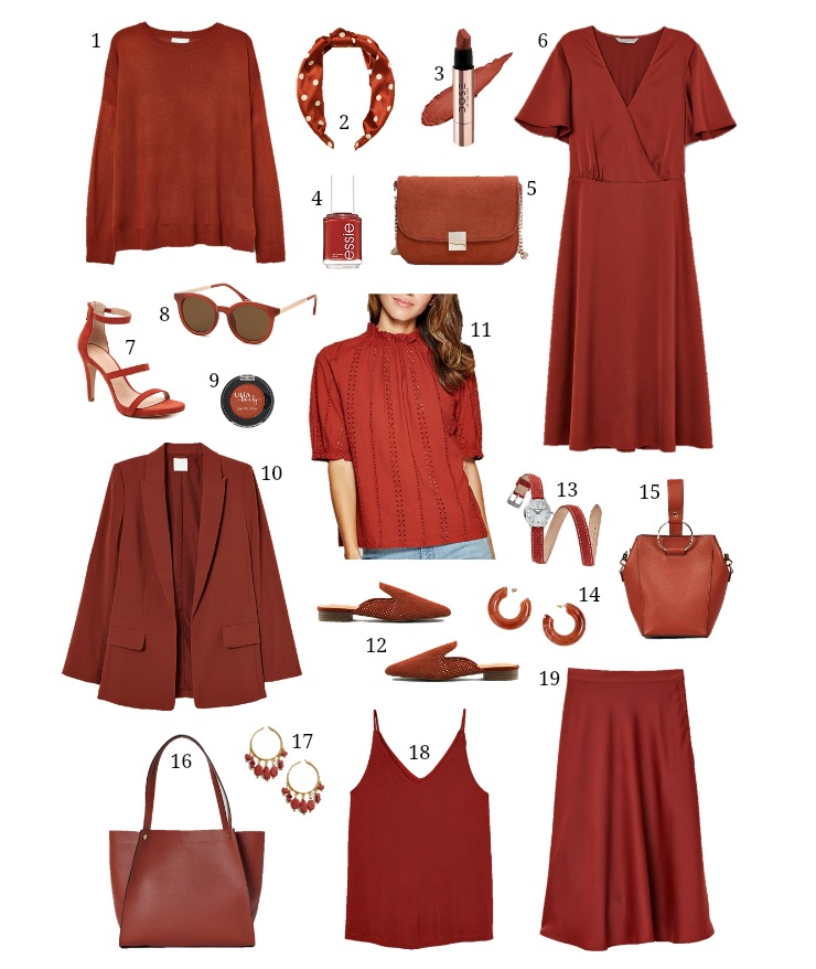 rust fall color trend