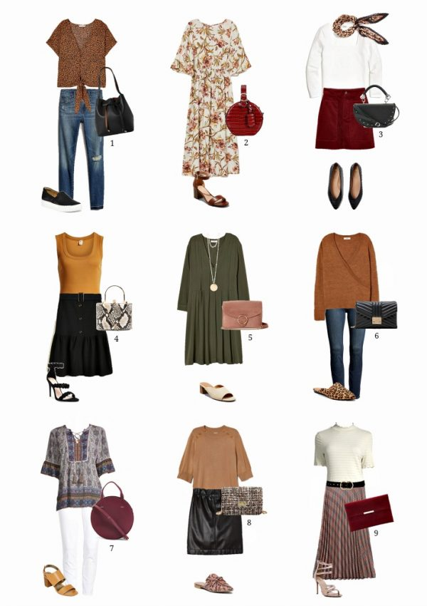transitional fall outfits