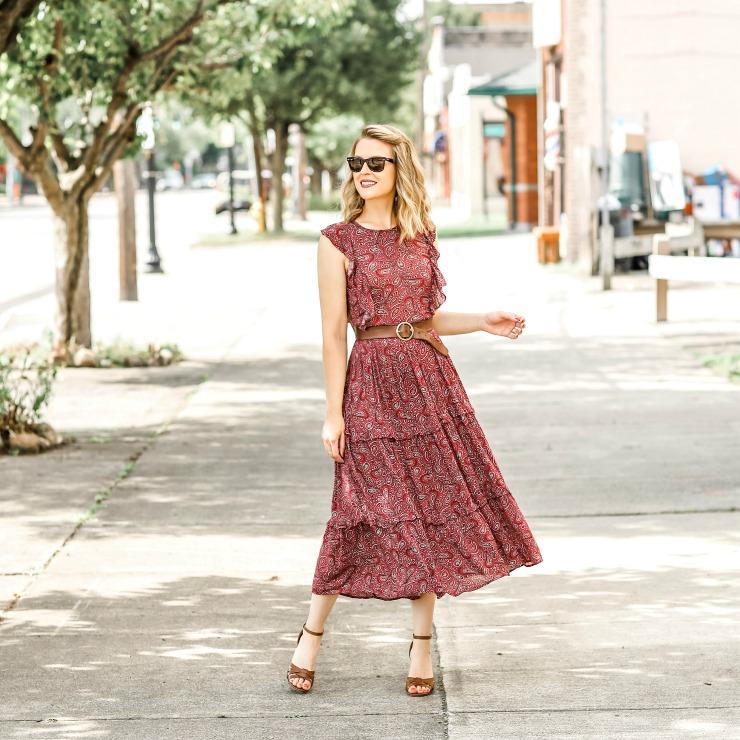 a.n.a Paisley Dress