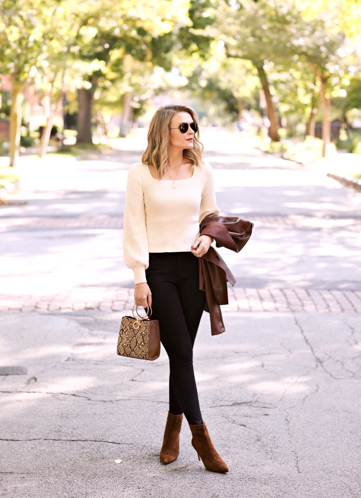 chic fall neutrals