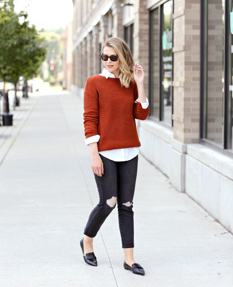 chic ways to layer for fall