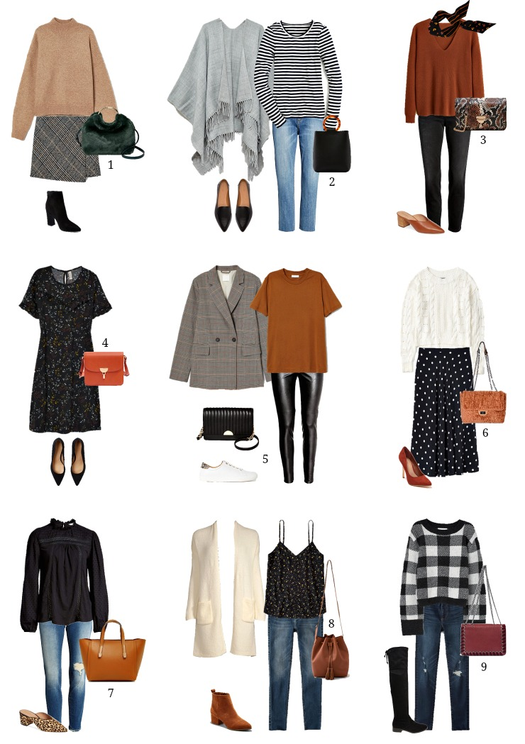 fall outfit ideas for less