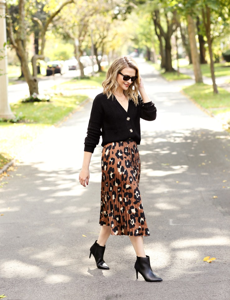 how to style leopard print for fall