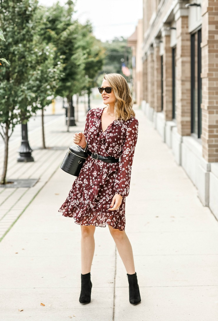 How to wear booties with dresses
