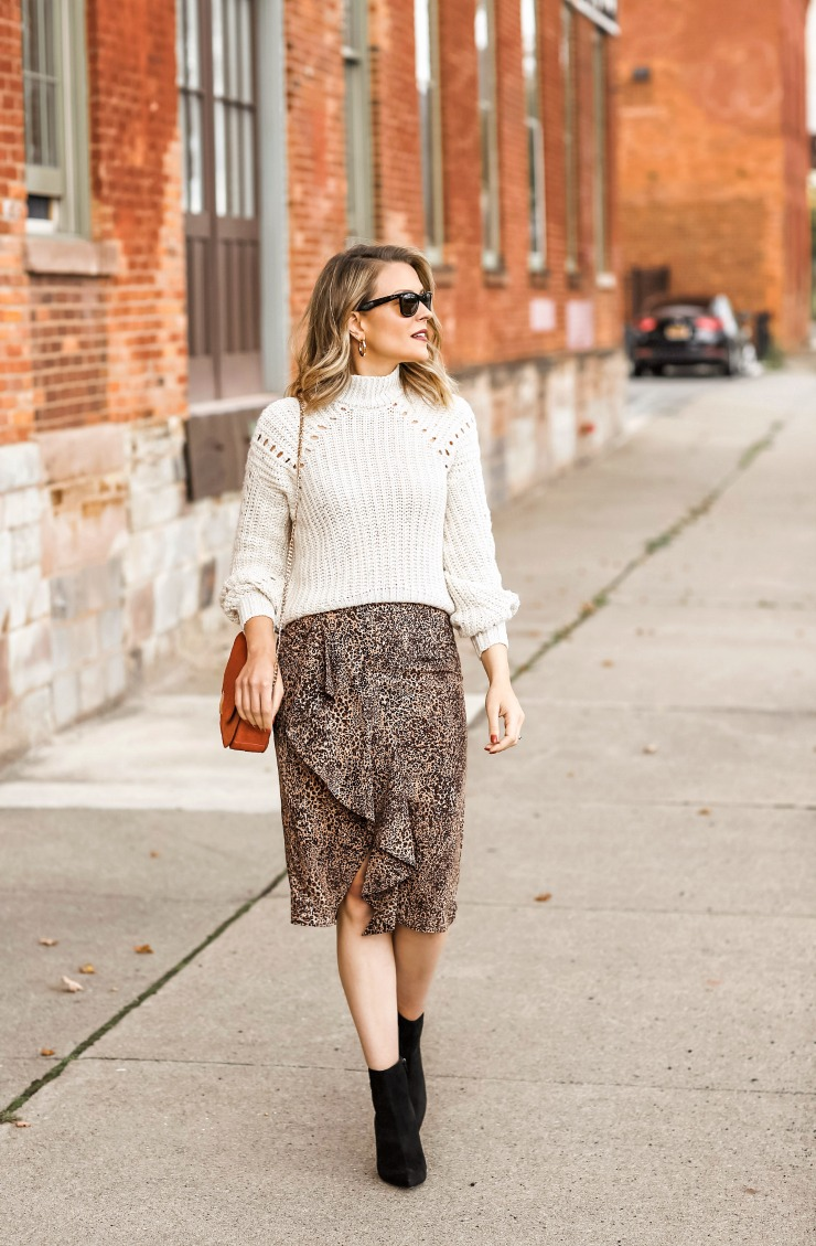 how to wear leopard this fall
