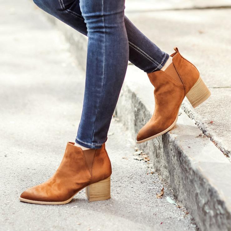 Melrose Ave Vegan Boots