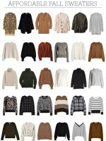 the best affordable fall knitwear