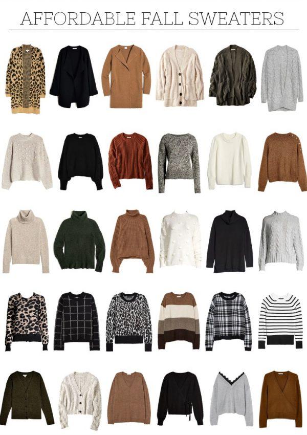 Cozy Fall Knitwear