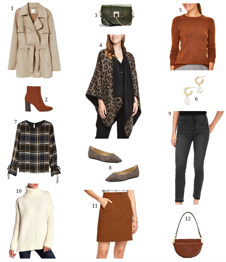 trendy fall styles under $60