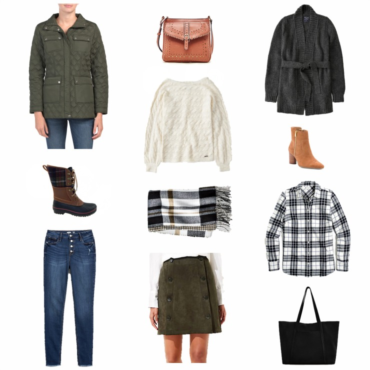 classic fall staples under $60
