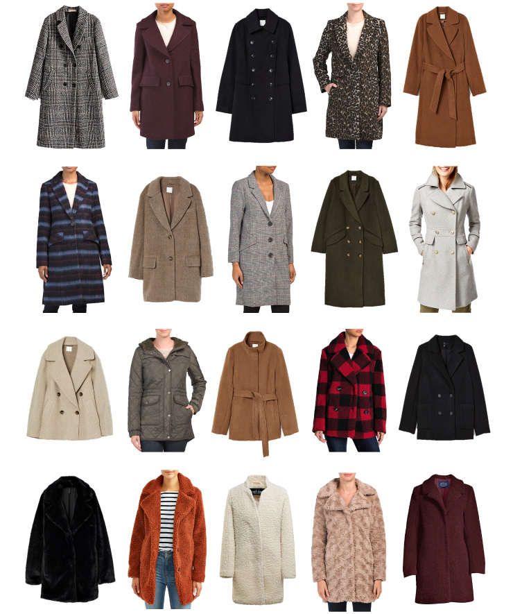 affordable fall outerwear