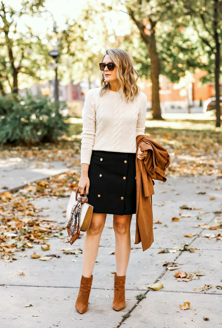 Banana Republic Trench Mini Skirt