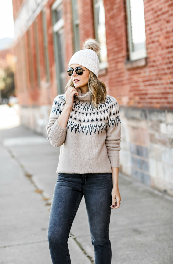 Dreamers by Debut Fair Isle Sweater