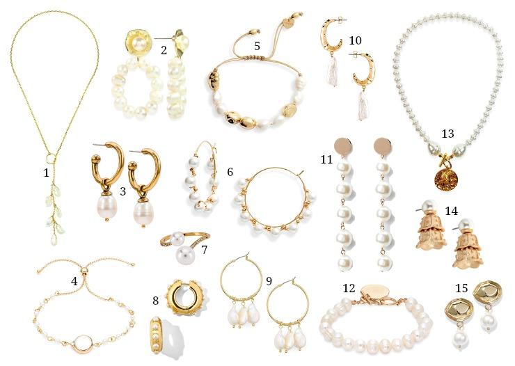 modern pearl jewelry