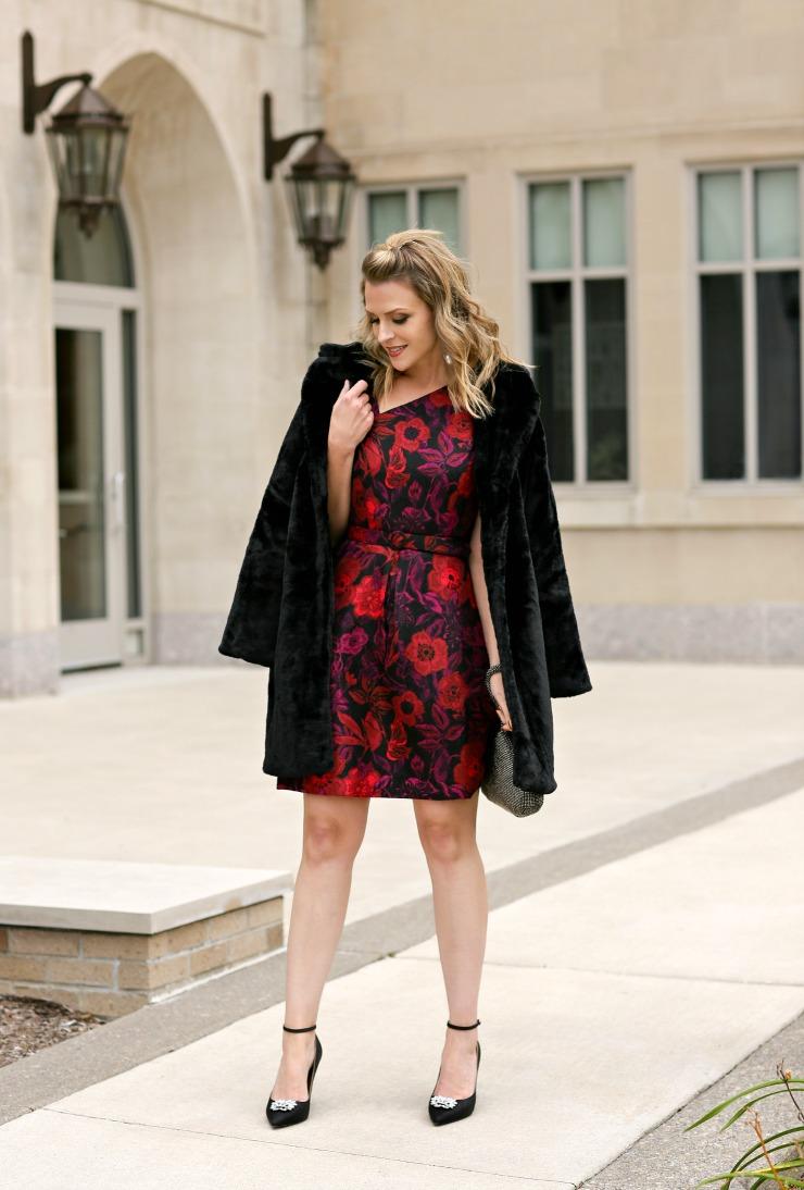 Liz Claiborne Faux Fur Coat